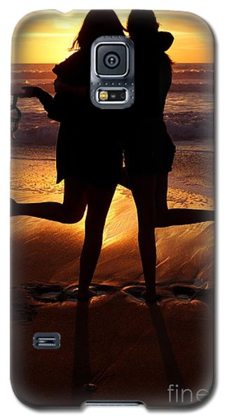 Sister Sunset Galaxy S5 Case by Kerri Mortenson