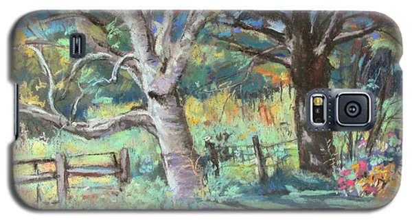 Sister Trees Galaxy S5 Case by Linda Novick