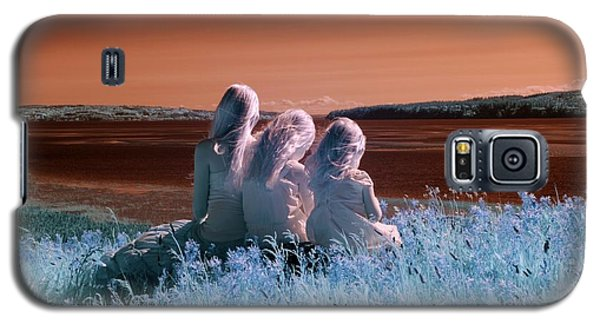 Sisters Dreaming Galaxy S5 Case by Rebecca Parker