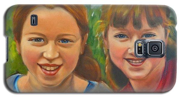 Sisters Galaxy S5 Case by Kaytee Esser