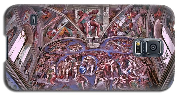 Galaxy S5 Case featuring the photograph Sistine Chapel by Allen Beatty