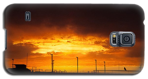 Sit A Spell Sunset Galaxy S5 Case