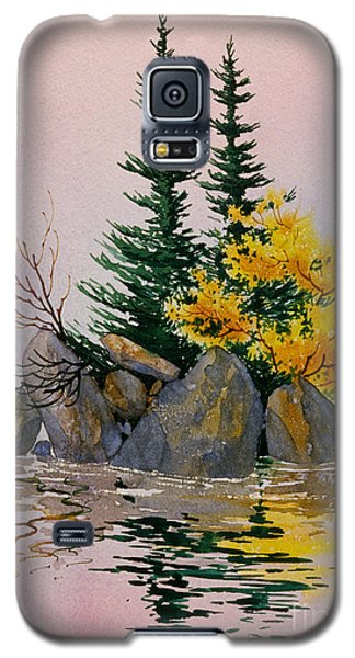 Galaxy S5 Case featuring the painting Sitka Isle by Teresa Ascone