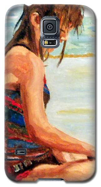 Sit'n In The Surf Galaxy S5 Case by Jim Phillips