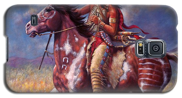 Sitting Bull Galaxy S5 Case by Harvie Brown