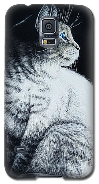 Sitting Cat Galaxy S5 Case
