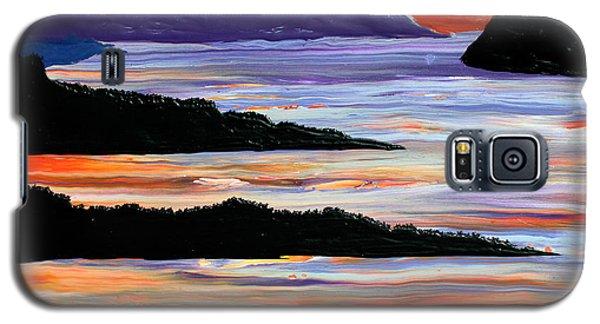 Sitting Seaside Galaxy S5 Case