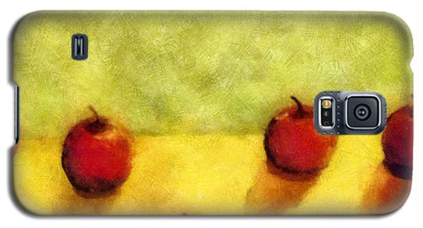 Six Apples Galaxy S5 Case by Michelle Calkins
