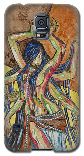 Six Armed Goddess Galaxy S5 Case by Stormm Bradshaw