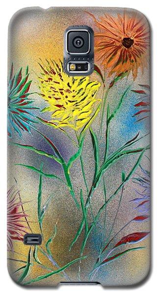 Six Flowers Galaxy S5 Case