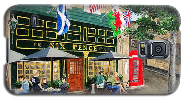 Six Pence Pub Galaxy S5 Case