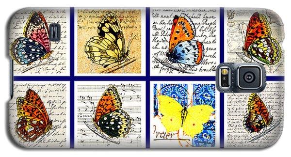 Sixteen Butterflies Galaxy S5 Case by Marian Cates