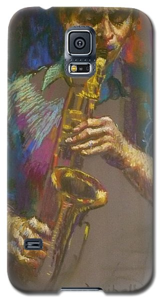 Sizzling Sax Galaxy S5 Case