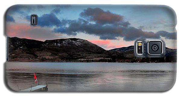 Skaha Lake Panorama 02-19-2014 Galaxy S5 Case