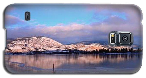 Skaha Lake Panorama 2/5/2014  Galaxy S5 Case