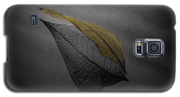 Skeleton Leaf 4716 Galaxy S5 Case