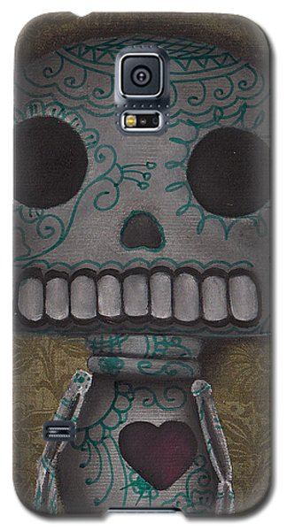 Skelly With A Heart Galaxy S5 Case