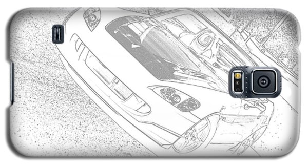 Sketched S2000 Galaxy S5 Case