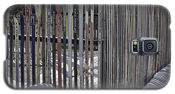 Ski Fence Galaxy S5 Case