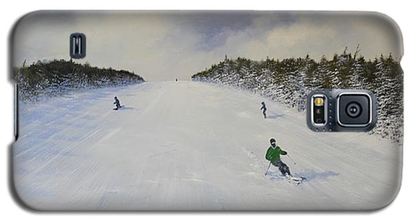 Ski The Meadow Galaxy S5 Case