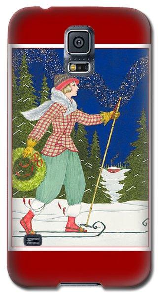 Ski Vogue Galaxy S5 Case