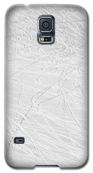Skier's Abstract Galaxy S5 Case