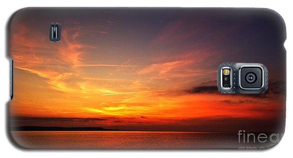 Skies On Fire Galaxy S5 Case by Baggieoldboy