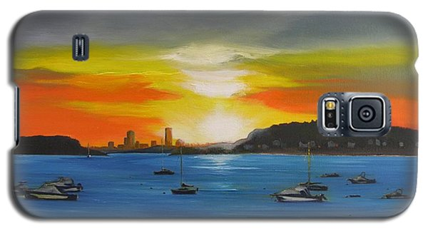 Skies Over The City Galaxy S5 Case by Barbara Hayes