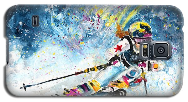 Skiing 03 Galaxy S5 Case