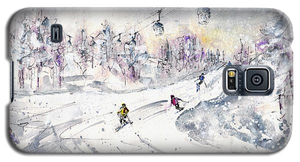 Skiing In The Dolomites In Italy 01 Galaxy S5 Case