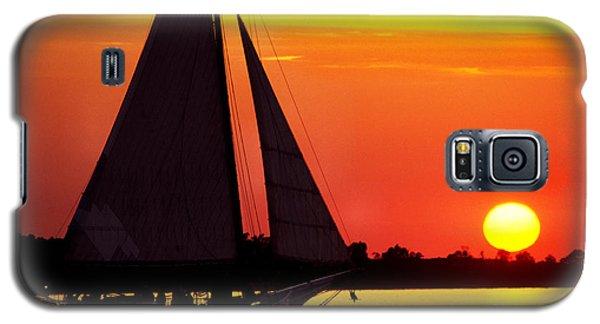 Skipjack At Sunset Galaxy S5 Case