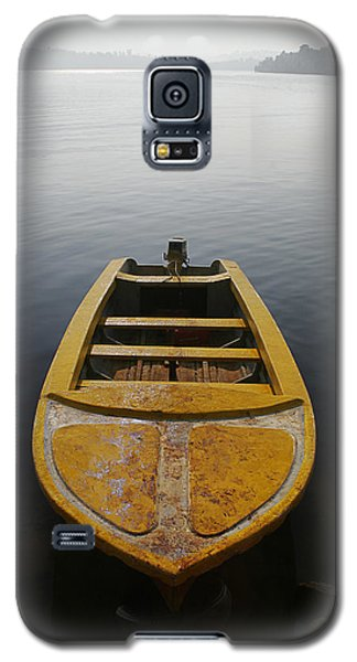 Galaxy S5 Case featuring the photograph Skc 0042 Calmness Anchored by Sunil Kapadia