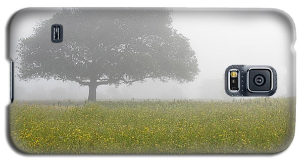 Galaxy S5 Case featuring the photograph Skc 0056 Tree In Fog by Sunil Kapadia