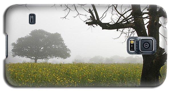 Galaxy S5 Case featuring the photograph Skc 0060 Framed Tree by Sunil Kapadia