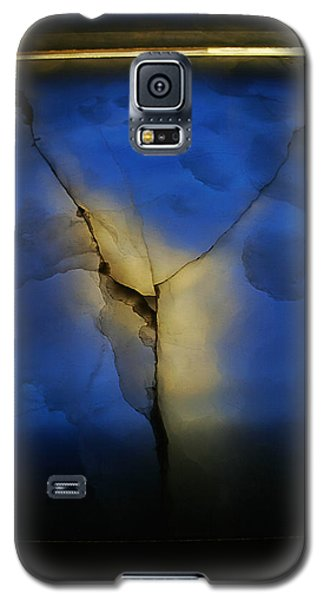 Galaxy S5 Case featuring the photograph Skc 0243 Cracked Y by Sunil Kapadia