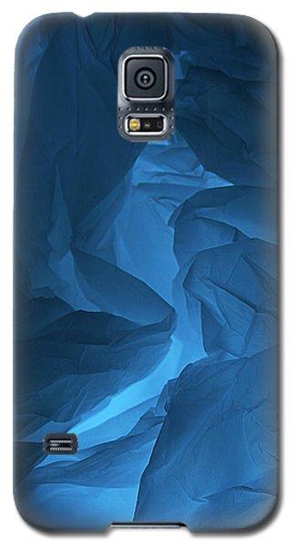 Skc 0247 Mystery In Blue Galaxy S5 Case