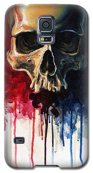 Skull Galaxy S5 Case by David Kraig