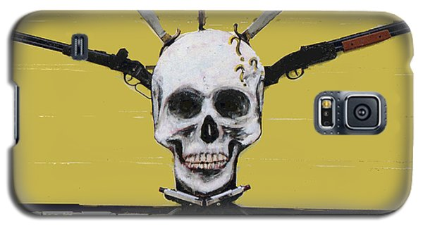 Skull With Guns Galaxy S5 Case