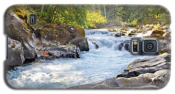 Skutz Falls At Cowichan River Provincial Park Galaxy S5 Case
