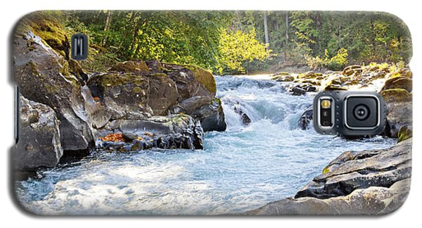 Skutz Falls At Cowichan River Provincial Park Galaxy S5 Case