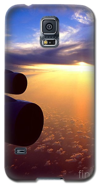 Sky Above 30000 Feet  Galaxy S5 Case by Aiolos Greek Collections