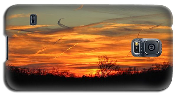 Sky At Sunset Galaxy S5 Case