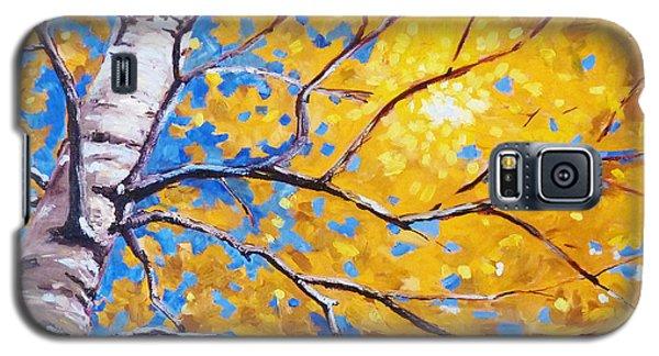 Sky Birch Galaxy S5 Case