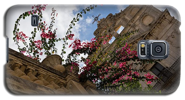 Galaxy S5 Case featuring the photograph Sky Blossoms by Georgia Mizuleva
