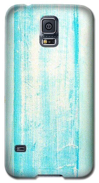 Galaxy S5 Case featuring the sculpture Sky Blue Entrance Entre Vous by Asha Carolyn Young