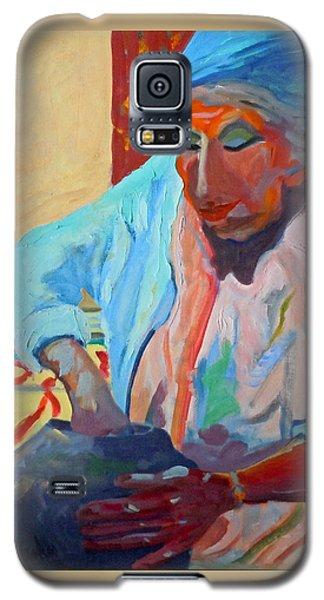 Sky City - Marie Galaxy S5 Case by Francine Frank