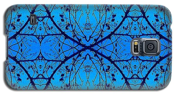 Galaxy S5 Case featuring the photograph Sky Diamonds Abstract Photo by Marianne Dow