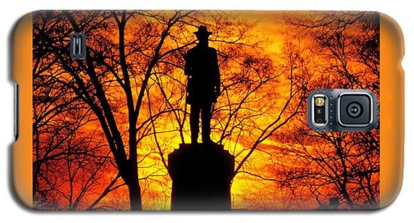 Sky Fire - Flames Of Battle 50th Pennsylvania Volunteer Infantry-a1 Sunset Antietam Galaxy S5 Case