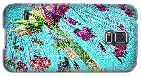 Galaxy S5 Case featuring the digital art Sky Flyer by Jennie Breeze