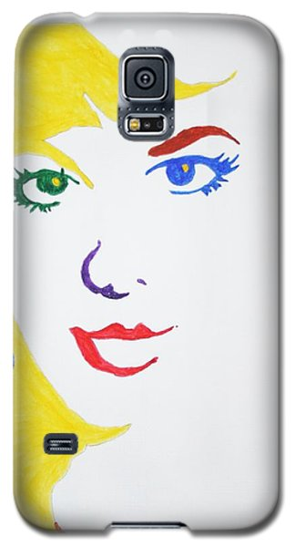 Blonde Mother Nature Galaxy S5 Case by Stormm Bradshaw